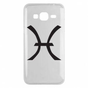 Phone case for Samsung J3 2016 Astronomical zodiac sign Pisces - PrintSalon