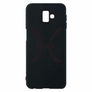Phone case for Samsung J6 Plus 2018 Astronomical zodiac sign Pisces - PrintSalon