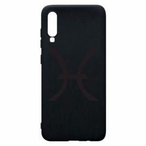 Phone case for Samsung A70 Astronomical zodiac sign Pisces - PrintSalon