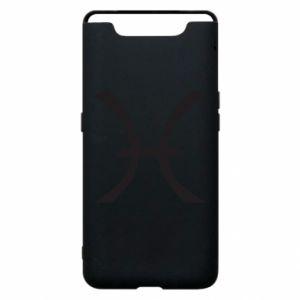Phone case for Samsung A80 Astronomical zodiac sign Pisces - PrintSalon