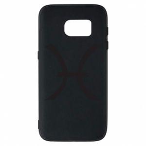 Phone case for Samsung S7 Astronomical zodiac sign Pisces - PrintSalon