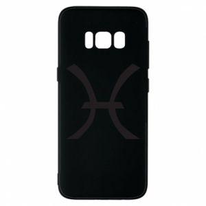 Phone case for Samsung S8 Astronomical zodiac sign Pisces - PrintSalon