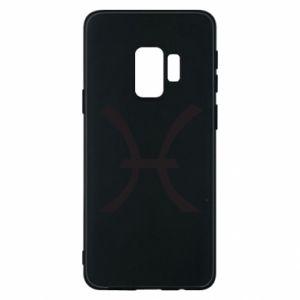 Phone case for Samsung S9 Astronomical zodiac sign Pisces - PrintSalon