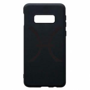 Phone case for Samsung S10e Astronomical zodiac sign Pisces - PrintSalon