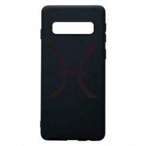 Phone case for Samsung S10 Astronomical zodiac sign Pisces - PrintSalon