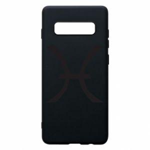 Phone case for Samsung S10+ Astronomical zodiac sign Pisces - PrintSalon