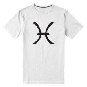 Men's premium t-shirt Astronomical zodiac sign Pisces - PrintSalon