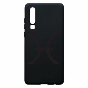 Phone case for Huawei P30 Astronomical zodiac sign Pisces - PrintSalon