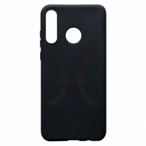 Phone case for Huawei P30 Lite Astronomical zodiac sign Pisces - PrintSalon