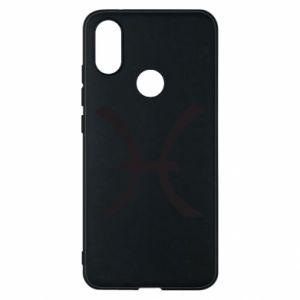 Phone case for Xiaomi Mi A2 Astronomical zodiac sign Pisces - PrintSalon