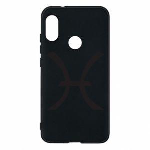 Phone case for Mi A2 Lite Astronomical zodiac sign Pisces - PrintSalon