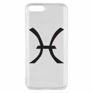 Phone case for Xiaomi Mi6 Astronomical zodiac sign Pisces - PrintSalon