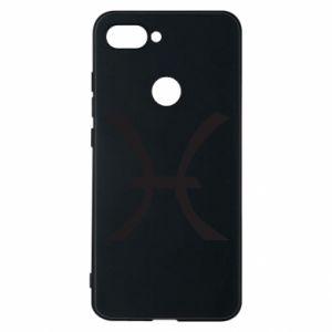 Phone case for Xiaomi Mi8 Lite Astronomical zodiac sign Pisces - PrintSalon