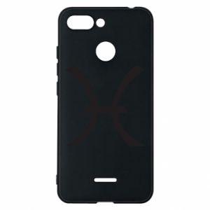 Phone case for Xiaomi Redmi 6 Astronomical zodiac sign Pisces - PrintSalon