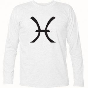 Long Sleeve T-shirt Astronomical zodiac sign Pisces - PrintSalon