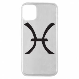 Phone case for iPhone 11 Pro Astronomical zodiac sign Pisces - PrintSalon