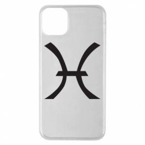 Phone case for iPhone 11 Pro Max Astronomical zodiac sign Pisces - PrintSalon