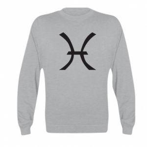 Bluza dziecięca Astronomical zodiac sign Pisces