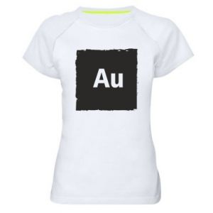 Damska koszulka sportowa Au