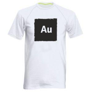Męska koszulka sportowa Au