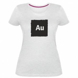 Damska premium koszulka Au