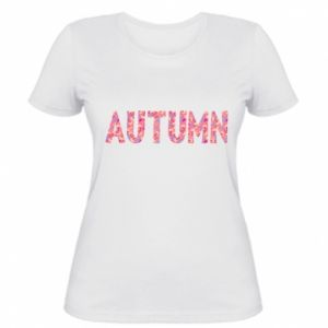 Women's t-shirt Autumn