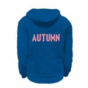 Kid's zipped hoodie % print% Autumn