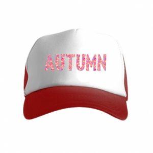 Kid's Trucker Hat Autumn