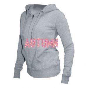 Damska bluza na zamek Autumn - PrintSalon