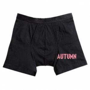 Boxer trunks Autumn