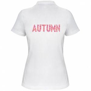 Damska koszulka polo Autumn - PrintSalon
