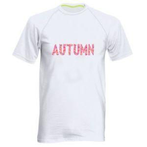 Męska koszulka sportowa Autumn - PrintSalon