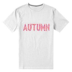 Męska premium koszulka Autumn - PrintSalon