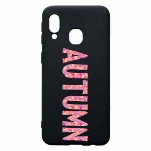 Samsung A40 Case Autumn