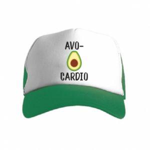 Czapka trucker dziecięca Avo-cardio