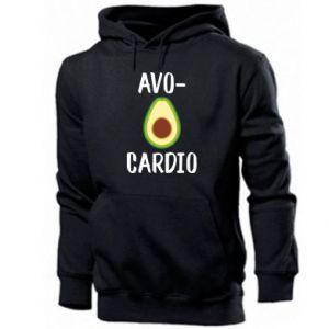 Męska bluza z kapturem Avo-cardio