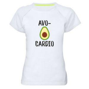 Koszulka sportowa damska Avo-cardio