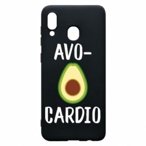 Etui na Samsung A20 Avo-cardio