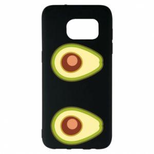Etui na Samsung S7 EDGE Avocados