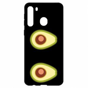 Etui na Samsung A21 Avocados