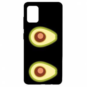 Etui na Samsung A51 Avocados