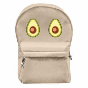 Plecak z przednią kieszenią Avocados
