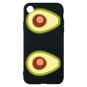 Etui na iPhone XR Avocados