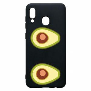 Etui na Samsung A20 Avocados