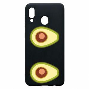 Etui na Samsung A30 Avocados