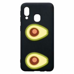 Etui na Samsung A40 Avocados