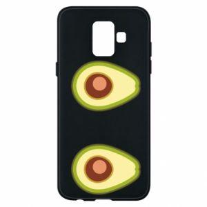Etui na Samsung A6 2018 Avocados