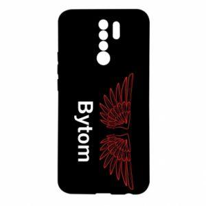 Etui na Xiaomi Redmi 9 Ażurowy orzeł Bytom