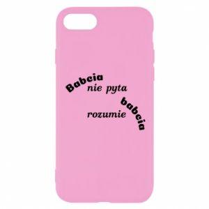 Etui na iPhone SE 2020 Babcia nie pyta babcia rozumie