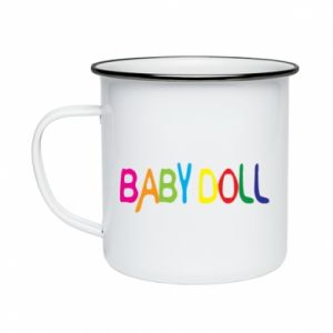 Kubek emaliowany Baby doll